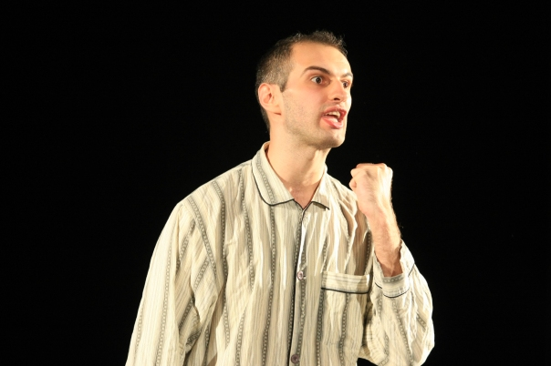 Adrian Tofei in The Monster at the HOP Young Actor's Gala 2012