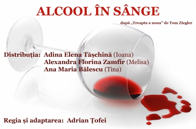 Blood Alcohol alternative poster (Romanian)