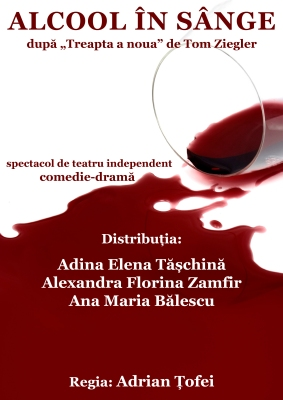 Blood Alcohol poster (Romanian)