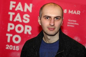 Adrian Țofei at the 2015 Fantasporto International Film Festival