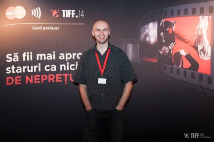 Adrian Tofei at the 2015 Transilvania International Film Festival