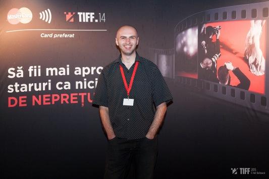 Adrian Țofei at the 2015 TIFF - Transilvania International Film Festival