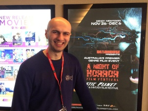 Adrian Tofei at the 2015 A Night of Horror Film Festival in Sydney